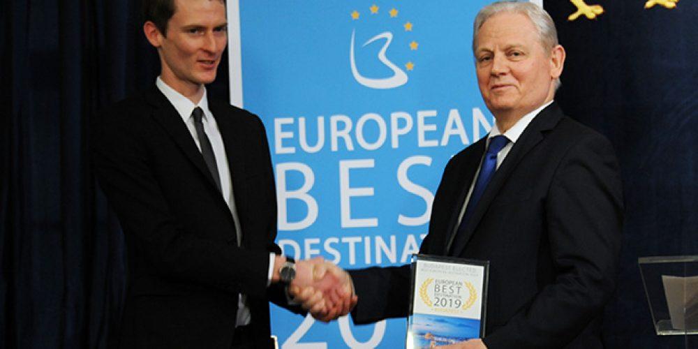 European Best Destination díjátadó Budapesten