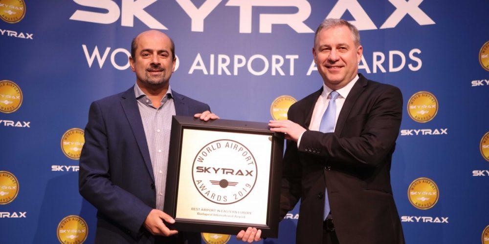 Hatodszor is Skytrax-díjas a Budapest Airport!