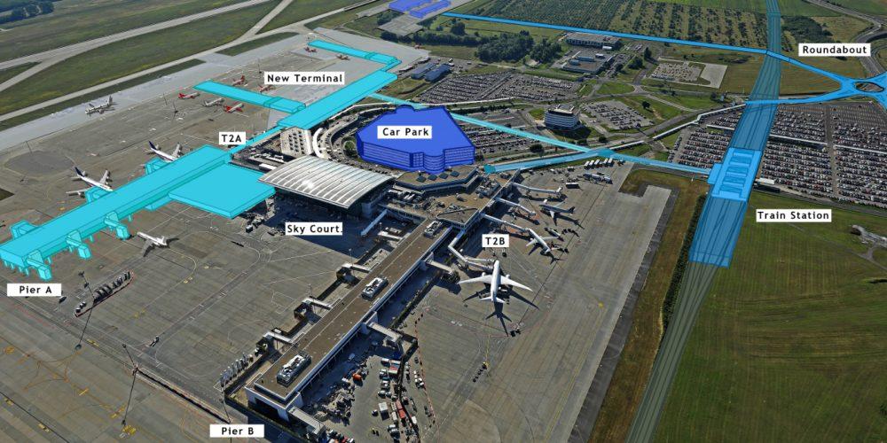 Budapest Airport, Ferihegy   Így fog kinézni a ferihegyi repülőtér 2024-ben