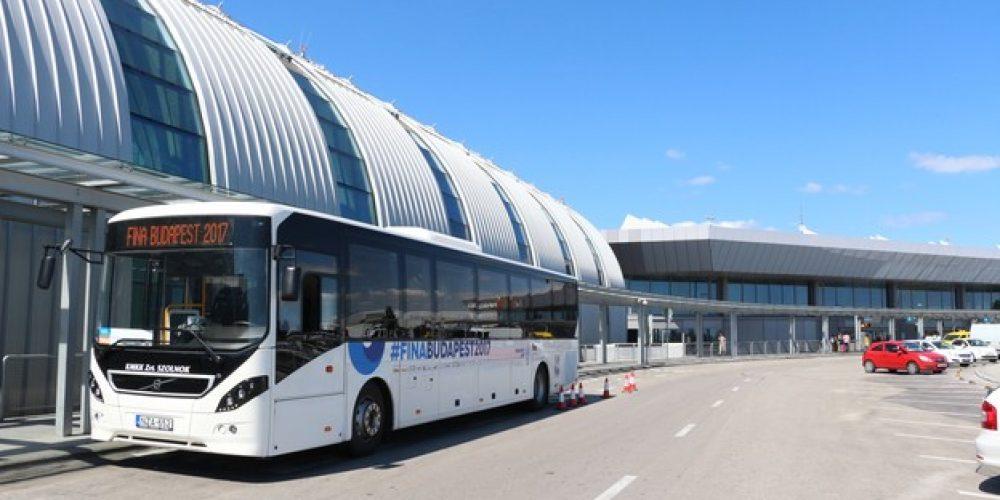 Rekordforgalom a repülőtéren a budapesti vizes VB miatt!
